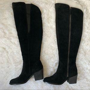 Crown Vintage Heeled Knee High Tall Boots Sz 7